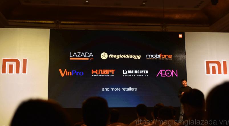 Mua điện thoại Xiaomi trên Lazada
