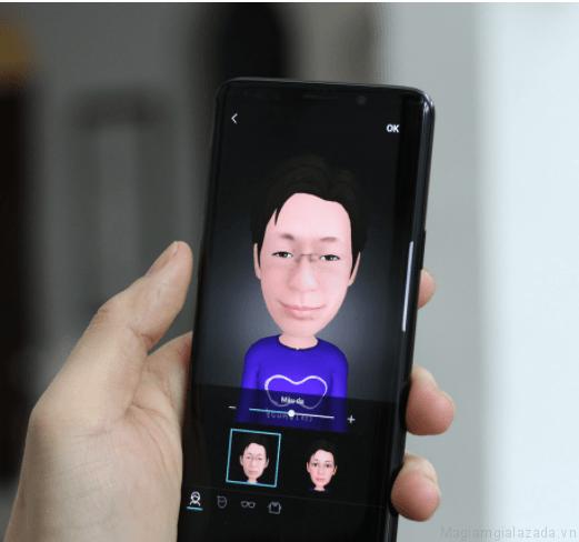 Hình AR Emoji trên Samsung galaxy S9 và S9+