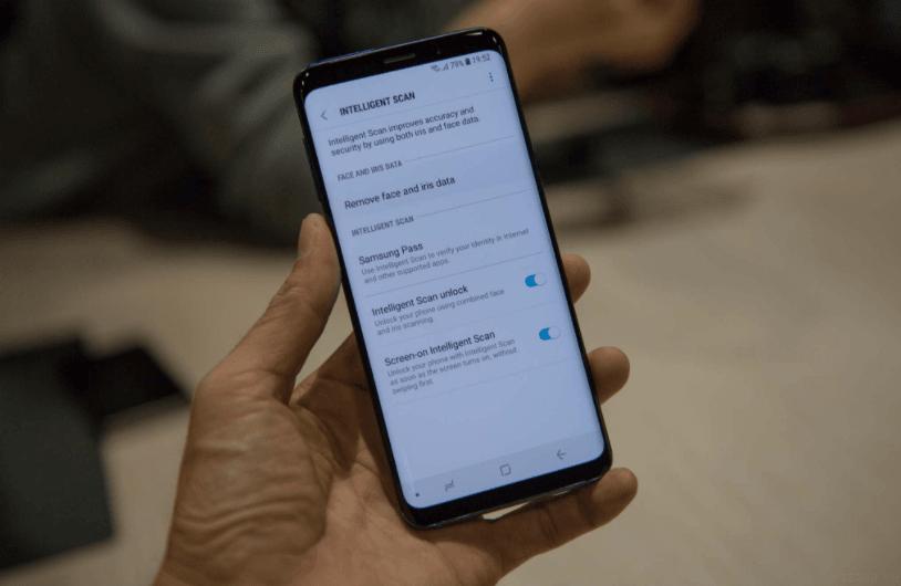 Công nghệ bảo mật Inteligent trên Samsung Galaxy S9 và S9+