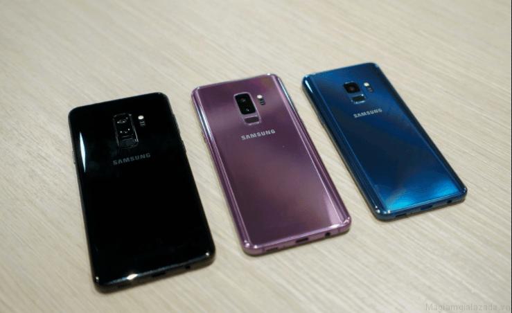 Thiết kế bên ngoài của Samsung Galaxy S9 và S9+ trên Lazada