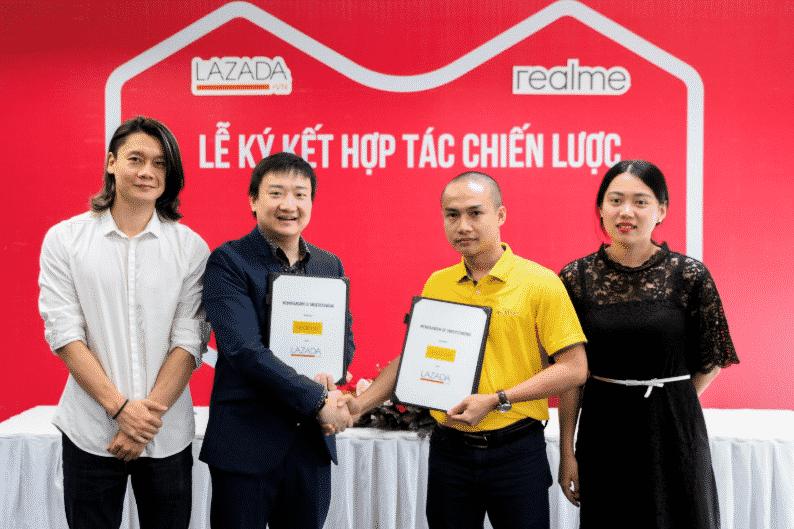 Lazada ký kết đối tác chiến lược với thương hiệu Bosch, Lock & Lock và Realme
