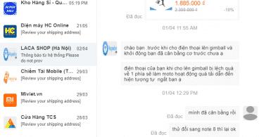 Hướng dẫn cách chat nhắn tin với Shop bán hàng trên lazada