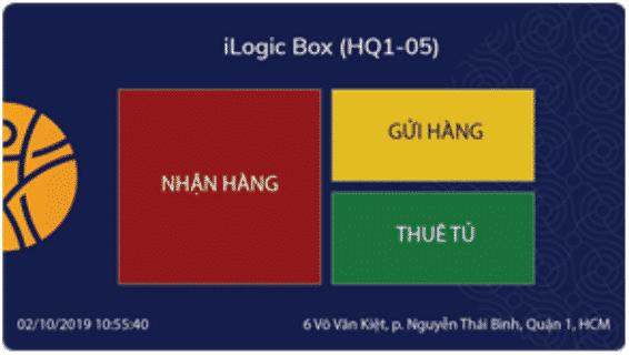 Lấy hàng tại tủ khóa thông minh - Smart locker (iLogic Smartbox)