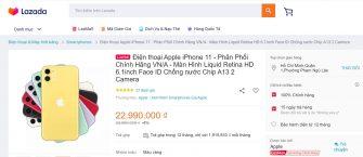 Mua iPhone 11 trên Lazada có tốt không? Có phải chính hãng không?