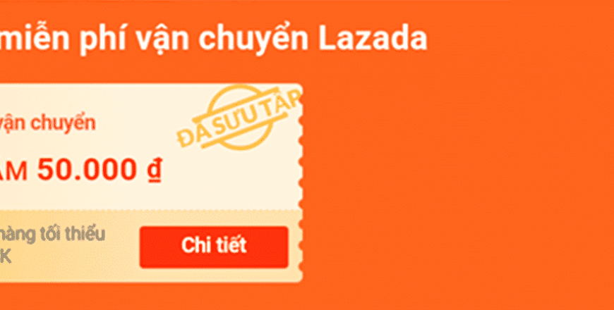 Mã miễn phí vận chuyển Lazada