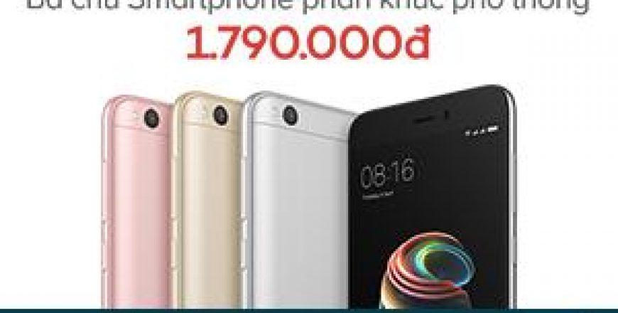 Điện thoại Xiaomi Redmi 5A Lazada chính hãng