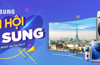 Có Gì HOT ở Đại Tiệc Samsung, Giá Siêu Sung Trên Lazada ngày 24/10/2017