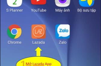 Hướng Dẫn Chi Tiết Mua Hàng Trên Ứng Dụng Lazada App