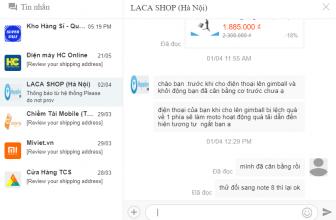 Hướng dẫn cách Chat với Shop trên Lazada nhanh nhất