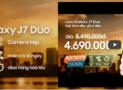 Samsung J7 Duo Lazada bán độc quyền, ưu đãi khủng với mã giảm giá Lazada
