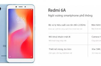 Xiaomi Redmi 6A Lazada bán độc quyền – Flash Sale giảm ngay 500K