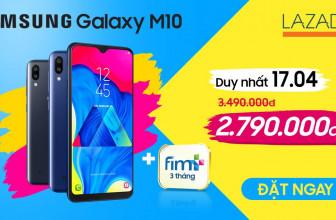 Đánh giá Samsung Galaxy M10. Có nên mua Galaxy M10 trên Lazada?