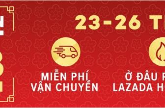 Lazada khuyến mãi TẾT âm lịch 2018: Săn hàng rộn rã – Giảm giá cực đã
