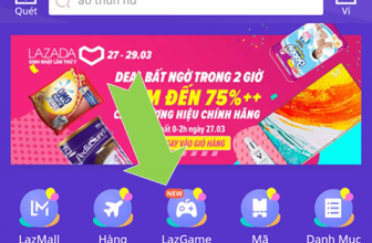 LazGame: Thỏa sức Chơi Game miễn phí – Nhận quà hết ý